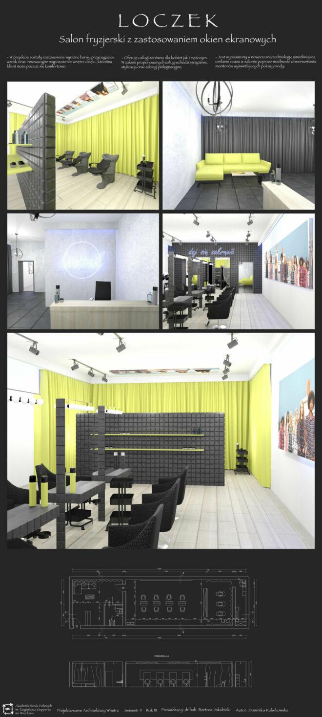 D.Kulwikowska - salon fryzjerski
